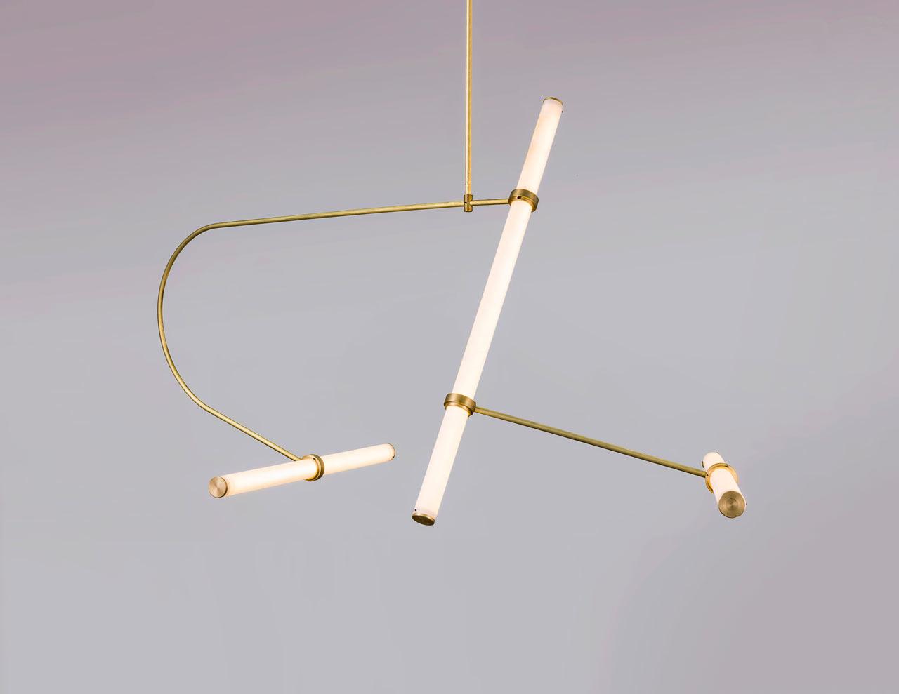 Tube Pendant Collection by Studio Naama Hofman