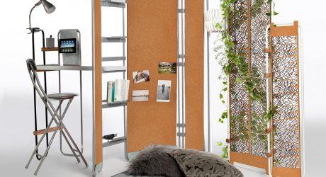 A Modular Furniture System Designed for Nomads