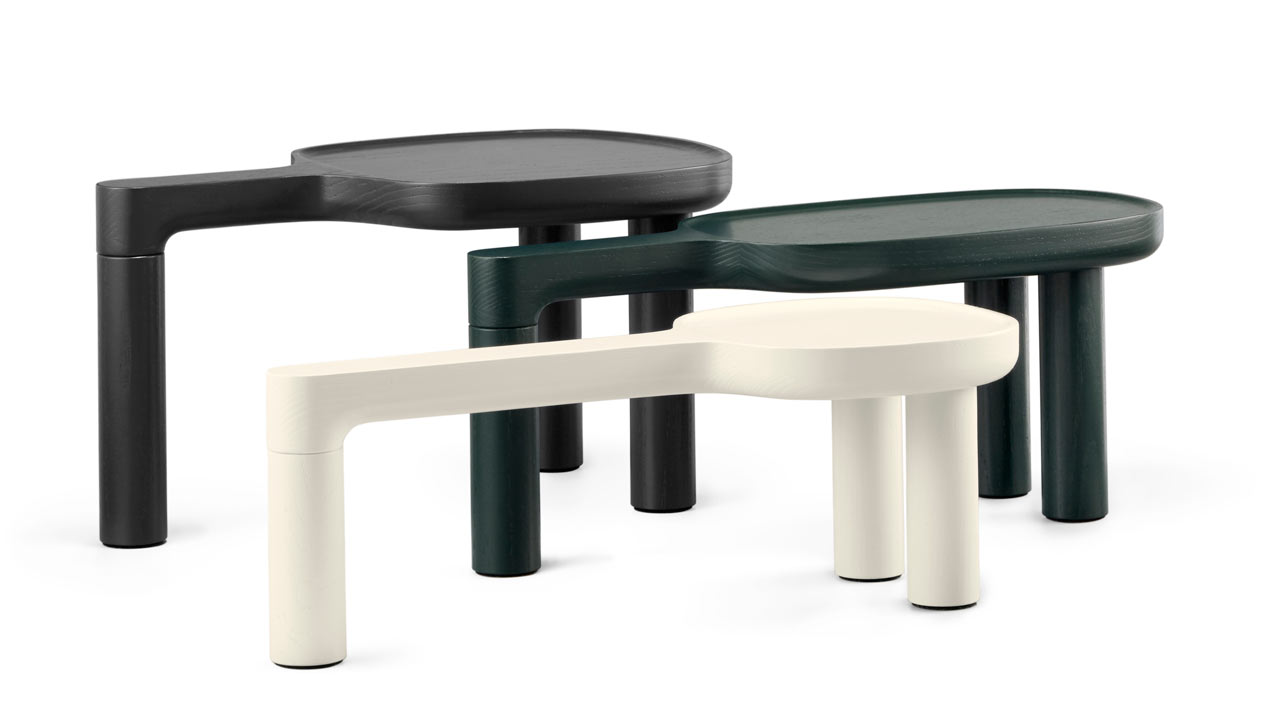 Cayman-Inspired Table-Trays by Luca Nichetto