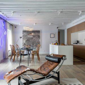 A Parisian Pied-à-terre by Piret Johanson Studio