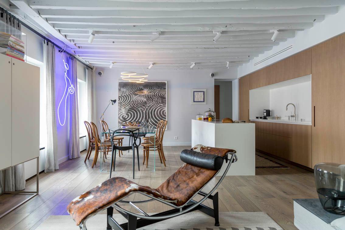 A Parisian Pied-à-terre by Piret Johanson Studio - Design Milk