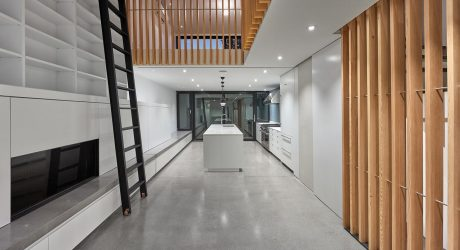 A Montreal Townhouse with a 32′ Atrium