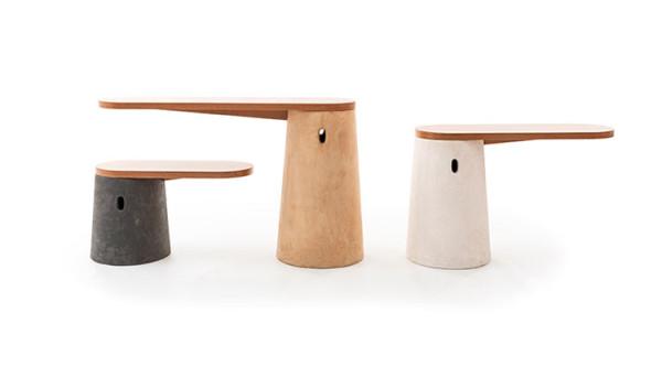 brazilian wood furniture. roundupbraziliandesignersovoconcretatables brazilian wood furniture