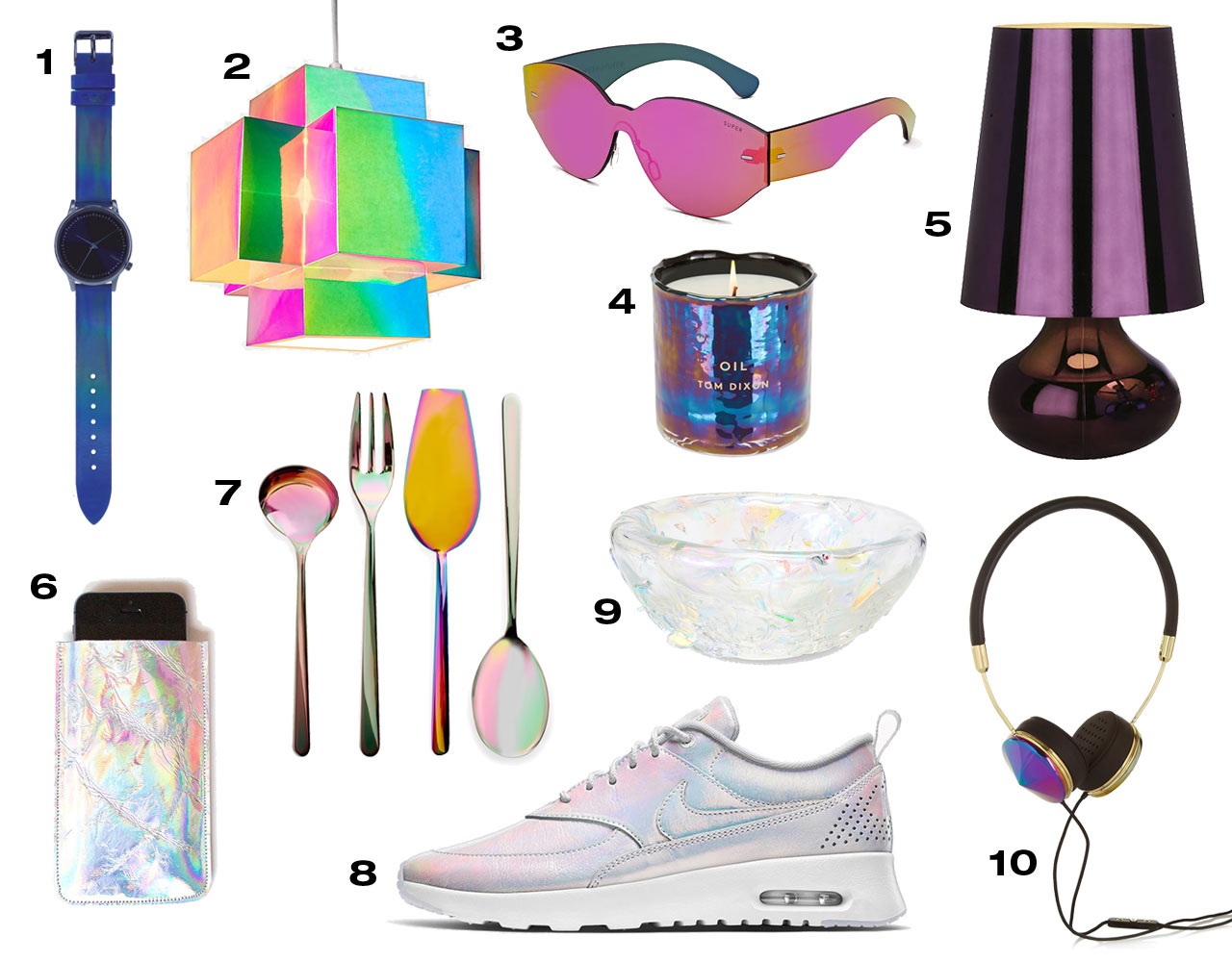 Ooh Shiny: 10 Modern Iridescent Designs