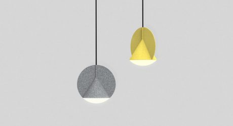 A Pendant Lamp That Plays With Geometry