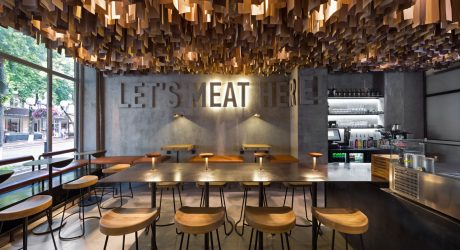 A Modern Burger Joint in Poltava, Ukraine