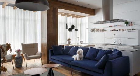 An Eclectic Ukrainian Apartment for an Artist & Her Family