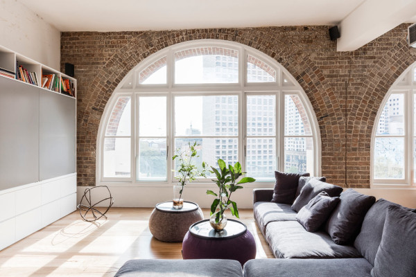 A Warehouse is Converted into a Stunning Apartment