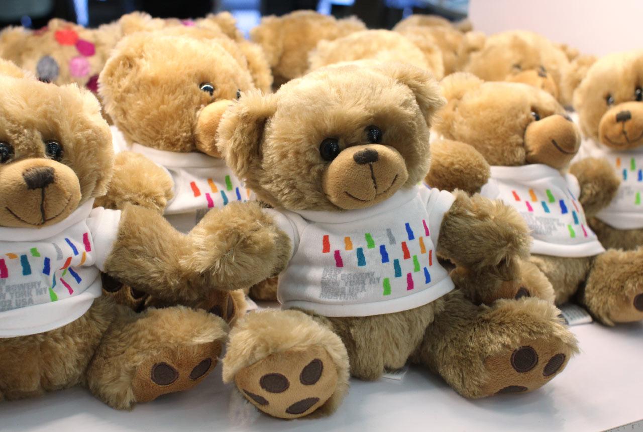 New Museum Teddy Bear