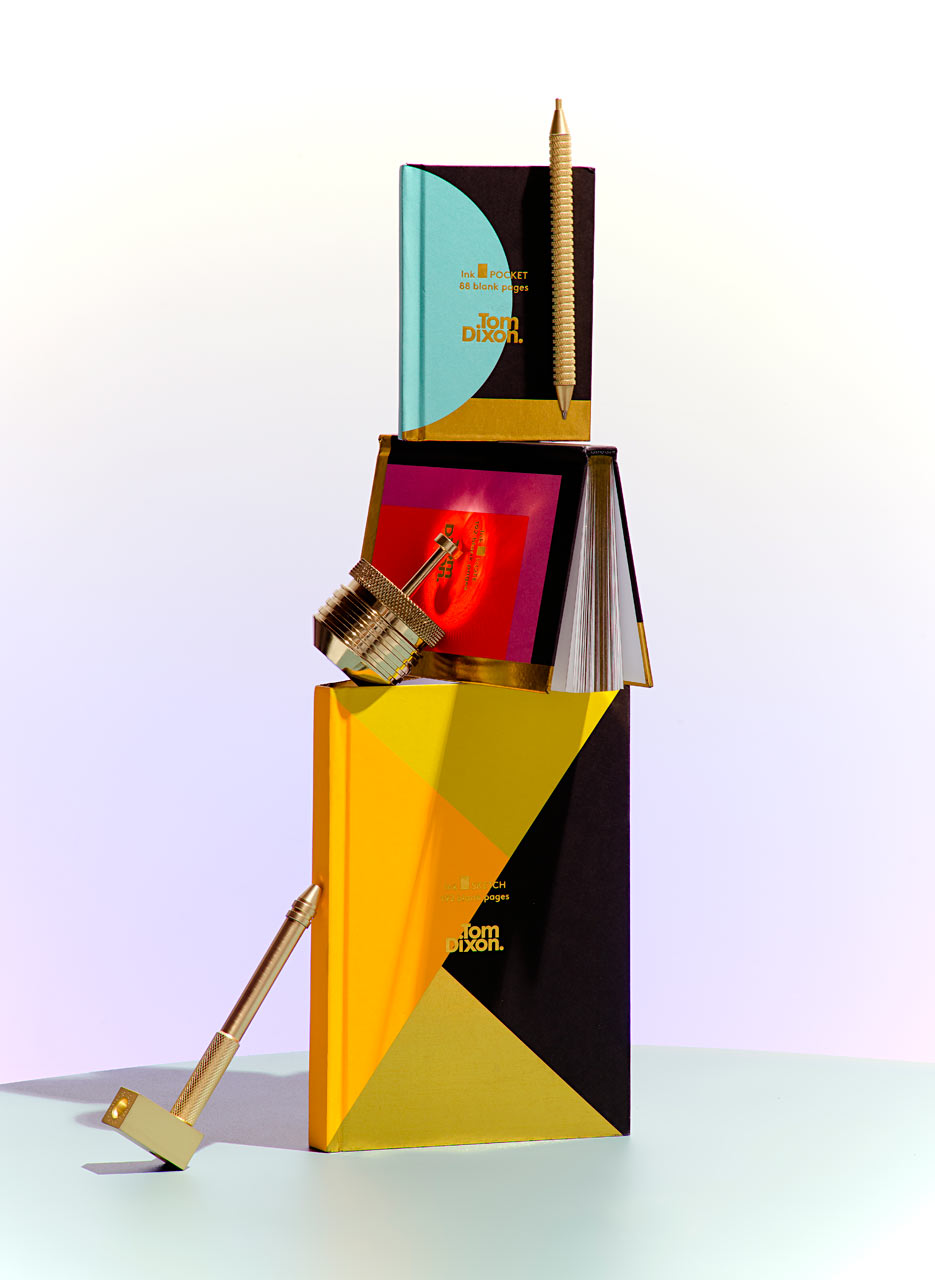 Tom Dixon's Bold New Stationery Collections