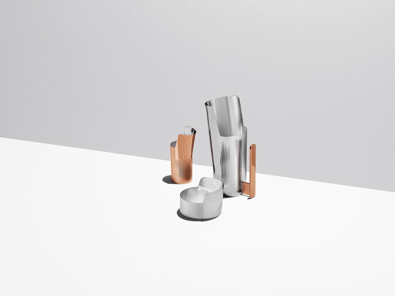 Patricia Urquiola's Tableware Collection for Georg Jensen