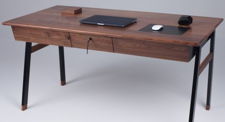 An Elegant Desk Inspired by James Bond