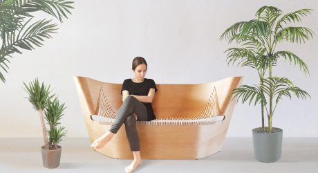 A Sofa Inspired by Nike of Samothrace