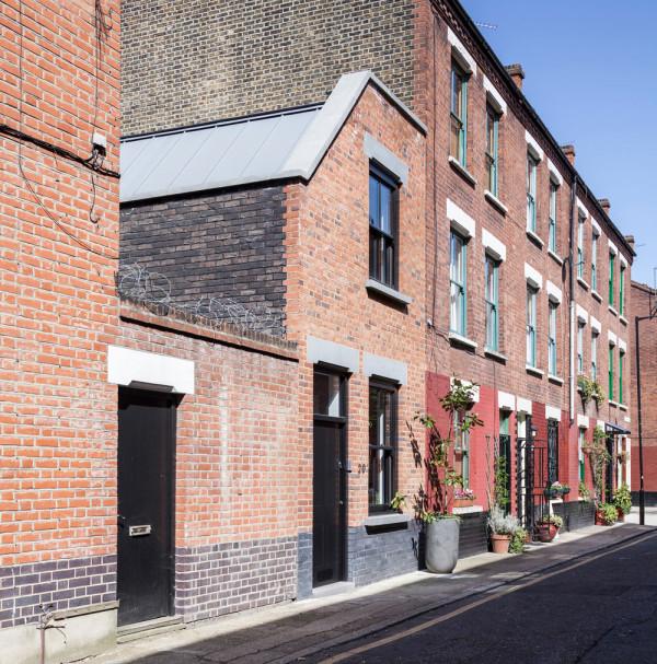 New facade \\\ Photo by David Butler