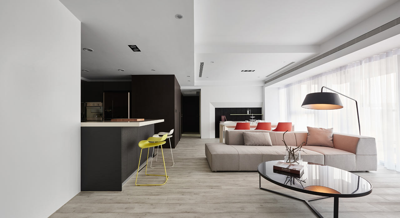 An Apartment in Taiwan Inspired by Paris