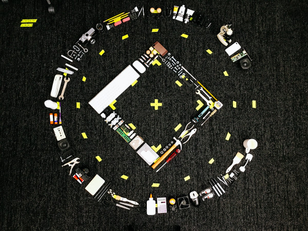 Squarespace logo shoot