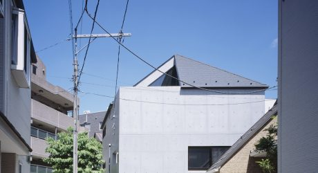 HAT Minimalist Home in Japan by APOLLO Architects & Associates