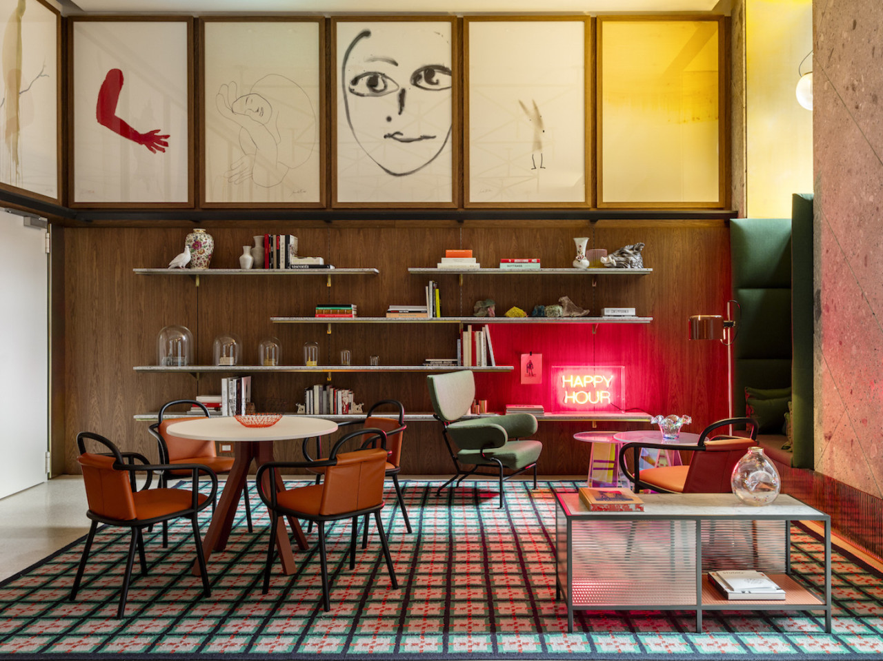 Patricia Urquiola Brings Milanese Style to The Room Mate Giulia Hotel in Milan