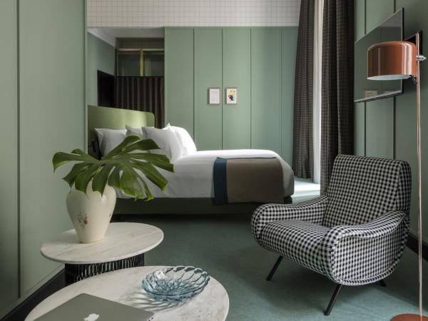Milanese Style Room Mate Giulia Hotel In Milan Design Milk