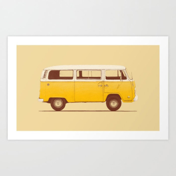 yellow-van-print