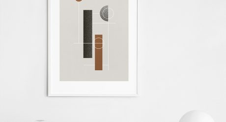 Circles and Outlined Posters by Atelier Cph