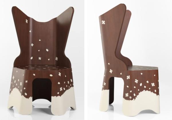 2015 Winner: Samantha Lilly's Blossom chair
