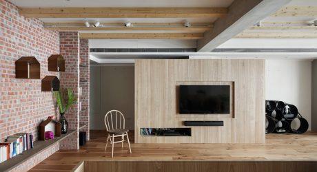 Apartment T by KC design studio