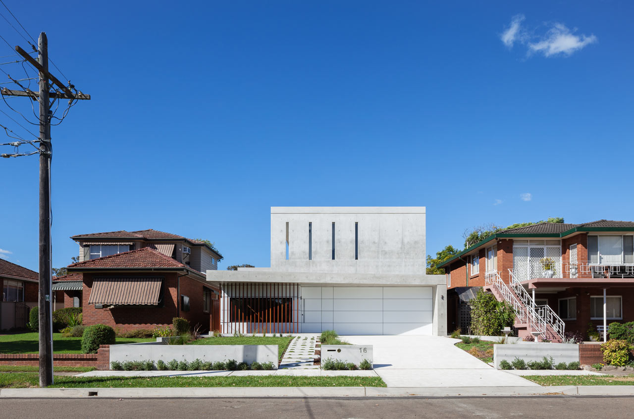 A Home That Shows the Owners' Love of Concrete