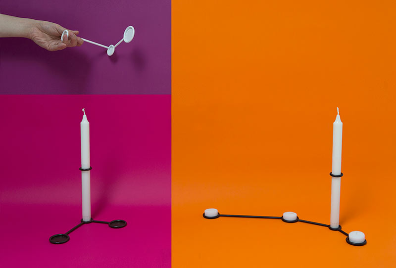 Constellation Candle Holders by SOHN