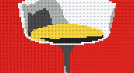 Modern LEGO Art by David Hughes