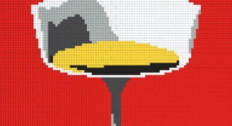 Modern LEGO Art by David Hughes