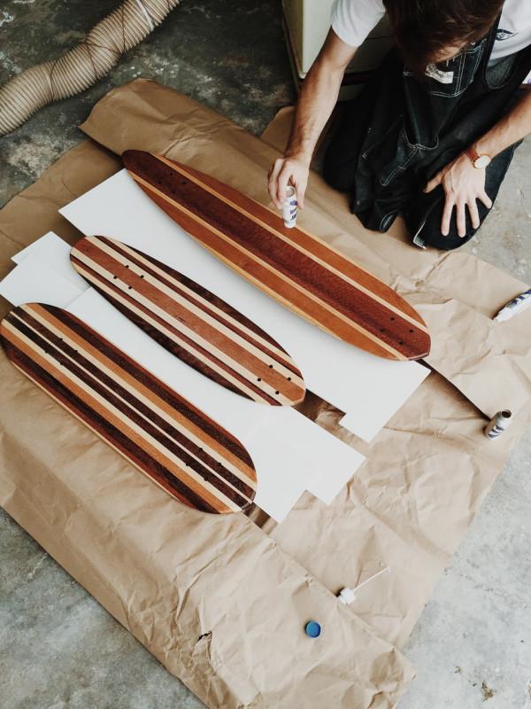 Decon-Side-Project-Skateboard-17_Applying-Lucid-Grip