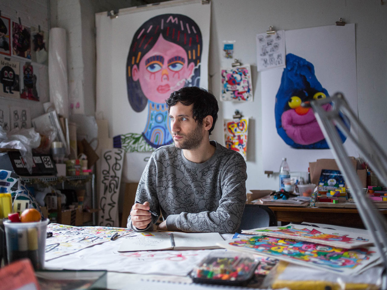 Friday Five with Jon Burgerman