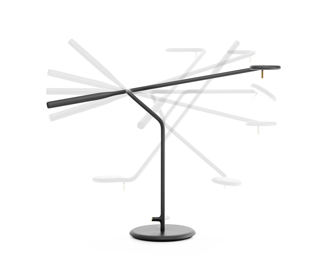 Modular LED Table Lamp with Flexible Positioning