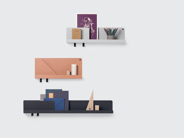 FOLDED: A Wall Storage System to Organize & Display Everyday Items