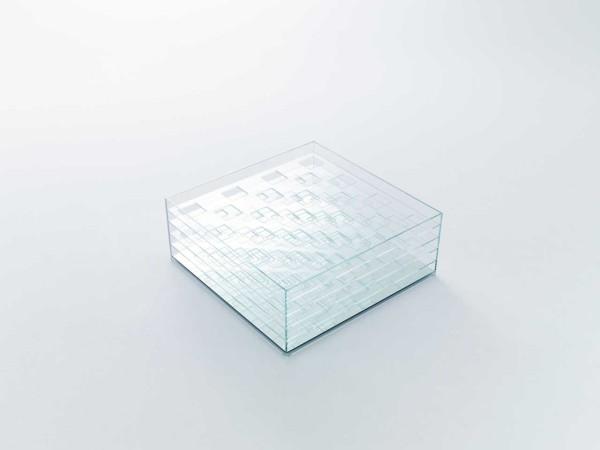 Window Table by nendo for Glas Italia \\\ Photo by Konichi Sonehara