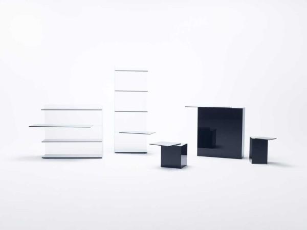 Slide Collection by nendo for Glas Italia \\\ Photo by Konichi Sonehara