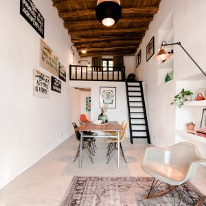 A 200-Year-Old Stable Becomes a Modern Guesthouse