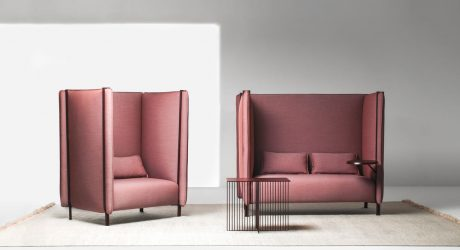 Upholstered Seating with Pinched Cushions