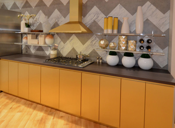 A Modern luxe kitchen designed by Danny