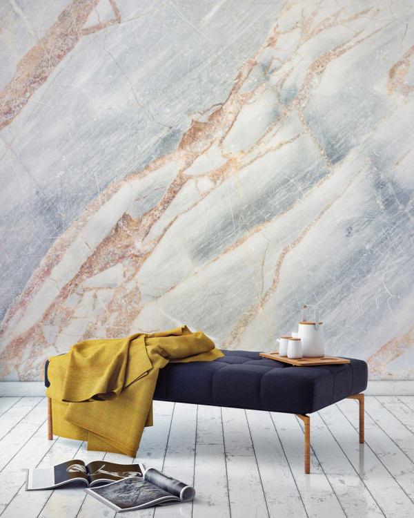 Murals-Wallpaper-Marble-4-Bronze-Cracked-Print