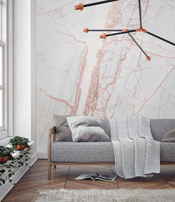 Murals-Wallpaper-Marble-5-Bronze-Textured-Print