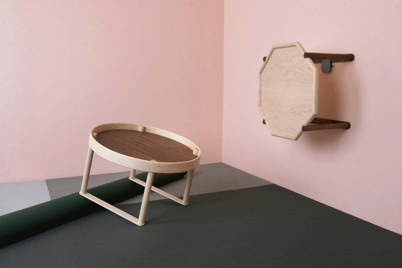 Tables Inspired by Soban, Portable Dining Tables in Korea
