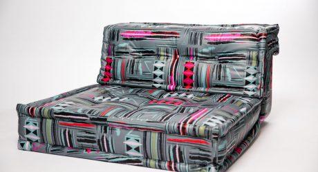 Utopia: Mimi Plange Reimagines Roche Bobois' Mah Jong Sofas