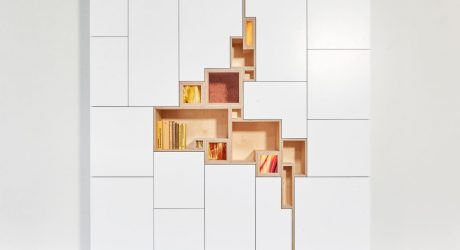 Rupture: A Wall Cabinet by Filip Janssens