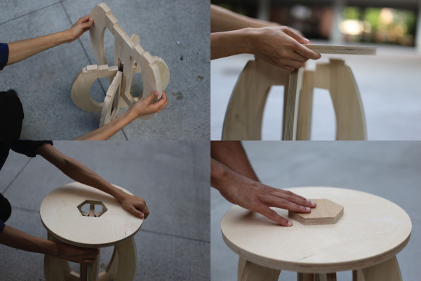 Expose Wood Joinery Furniture By Shel Han Design Milk