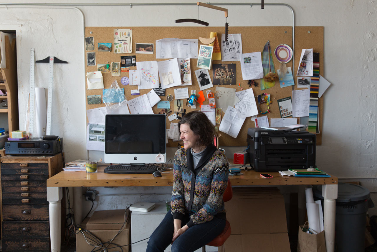 Where I Work: Nana Spears of Fort Makers