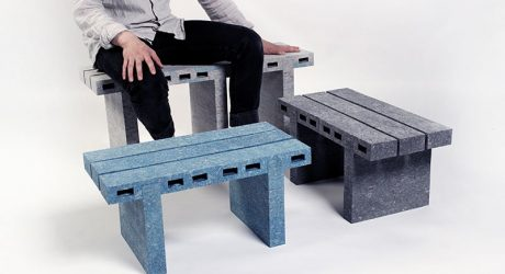 Recycled Newspapers Turned into Furniture