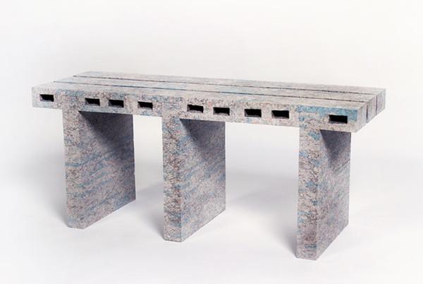 WooJai-Lee-paperbricks_pallet_series-4-bench