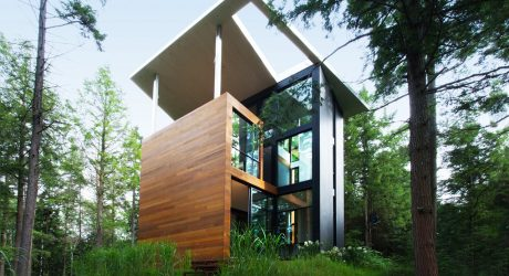A Montreal House Designed for a Sculptor